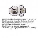 FICHA TECNICA 501 brasil xlr 125 hero 100 splendor 4t ac