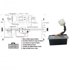 812 Reg Rectificador Pulsar Modelo Nuevo Caja Verde