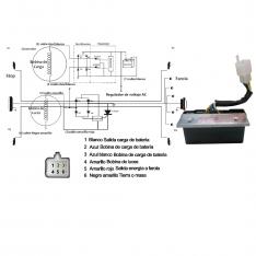 813 Reg Rectificador Pulsar Modelo Viejo Caja Gris