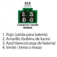 816 A Reg RECT 12V – C -90 XLR 125 BROSS