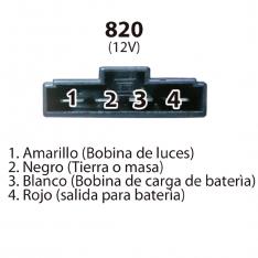 820 REG MONOFASICO LINEAL DISC 125-135 WIND