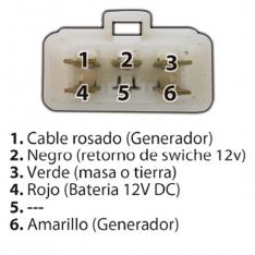 827 A REG RECTIFICADOR BIFASICO AGILITY RS